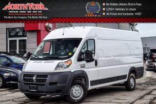 New 2017 RAM Cargo Van ProMaster New Car High Roof Extended 159