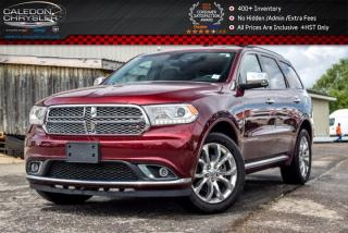Used 2017 Dodge Durango Citadel|AWD|6Seater|Navi|Sunroof|DVD|Backup Cam|Bluetooth|R-Start|20