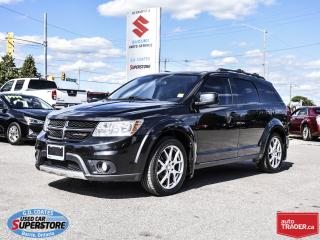 Used 2013 Dodge Journey R/T Rallye AWD ~7 Passenger for sale in Barrie, ON