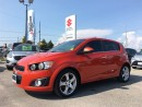 Used 2012 Chevrolet Sonic LT ~P/Sunroof ~Fuel-Efficient ~Top Safety Scores for sale in Barrie, ON