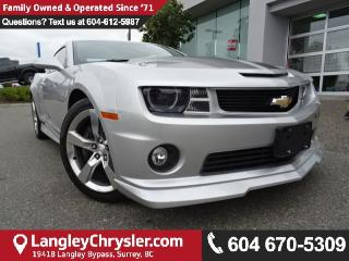 Used 2012 Chevrolet Camaro SS w/LEATHER  INTERIOR & SUNROOF for sale in Surrey, BC