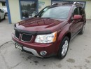 Used 2008 Pontiac Torrent 'GREAT VALUE' LOADED AWD 5 PASSENGER 3.4L - V6.. LEATHER.. HEATED SEATS.. POWER SUNROOF.. PIONEER AUDIO.. for sale in Bradford, ON