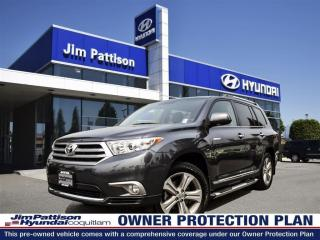 Used 2013 Toyota Highlander V6Limited-Local/Navi/ RearviewCam/ Leather/Sunroof for sale in Port Coquitlam, BC