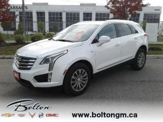 Used 2017 Cadillac XT5 Luxury - Leather Seats -  Sunroof - $243 B/W for sale in Bolton, ON