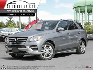 Used 2012 Mercedes-Benz ML 350 ML350 BlueTEC for sale in Stittsville, ON