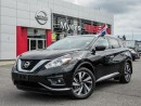 Used 2017 Nissan Murano PLAT AWD, NAVIGATION, INTELLIGENT KEY, LEATHER, MOONROOF for sale in Orleans, ON