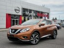 Used 2017 Nissan Murano PLAT AWD, NAVIGATION, LEATHER, MOONROOF, TINTED WINDOWS for sale in Orleans, ON