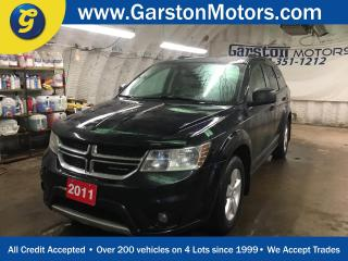 Used 2011 Dodge Journey SXT*KEYLESS ENTRY*PUSH BUTTON TO START*DUAL ZONE CLIMATE CONTROL*CRUISE CONTROL*POWER WINDOWS/LOCKS/HEATED MIRRORS*AM/FM/CD/AUX/USB*FOG LIGHTS*ROOF RAILS*TRAILER HITCH*ALLOYS*HOOD DEFLECTOR* for sale in Cambridge, ON