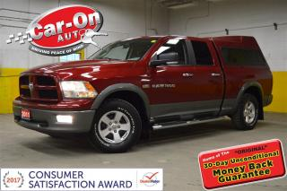Used 2011 Dodge Ram 1500 OUTDOORSMAN SLT 4X4 TRUCK CAP ALLOYS LOADED for sale in Ottawa, ON