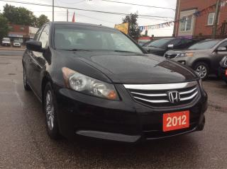Used 2012 Honda Accord SE for sale in Scarborough, ON