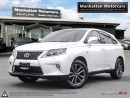 Used 2013 Lexus RX 350 F SPORT |NAV|CAMERA|PHONE|HEADSUP|FAC.WARRANTY for sale in Scarborough, ON
