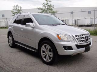 Used 2011 Mercedes-Benz ML 350 LOADED!! NAVI,BACK CAM,HEATED LEATHER,SUNROOF for sale in North York, ON