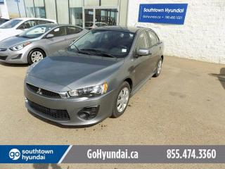 Used 2017 Mitsubishi Lancer Touch Screen/ Backup Camera/ Steering wheel phone controls for sale in Edmonton, AB