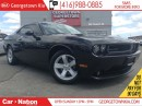 Used 2014 Dodge Challenger SXT NAVI| LEATHER| ONE OWNER| NEW TIRES| 43,744KMS for sale in Georgetown, ON