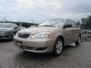 Used 2005 Toyota Corolla SE / ONE OWNER/ NO ACCIDENT CLAIMS for sale in Newmarket, ON