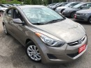 Used 2013 Hyundai Elantra GL/AUTO/4-CYL/LOW LOW LOW KMS/DRIVES LIKE NEW for sale in Scarborough, ON