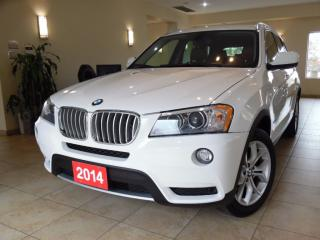 Used 2014 BMW X3 xDrive28i NAVI|360CAM|PANOROOF for sale in Toronto, ON