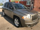 Used 2008 Jeep Compass LOW KMS - NO ACCIDENT - SAFETY & WARRANTY INCLUDED for sale in Cambridge, ON