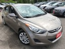 Used 2013 Hyundai Elantra GL/AUTO/4-CYL/LOW LOW LOW KMS/DRIVES LIKE NEW for sale in Pickering, ON