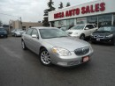 Used 2008 Buick Lucerne CXL AUTO LEATHER PW PL PM A/C KEYLESS SAFETY WARRA for sale in Oakville, ON