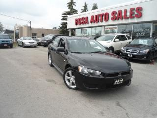 Used 2010 Mitsubishi Lancer 4dr Sdn CVT AUTO ALLOY PW PL PM A/C KEYLESS SAFETY for sale in Oakville, ON