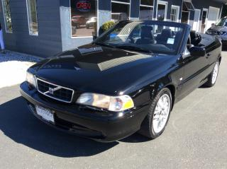Used 2001 Volvo C70 ON SALE for sale in Parksville, BC