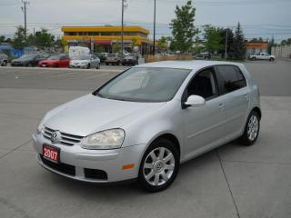 Used 2007 Volkswagen Golf 4door,AirConditioning,certify,Auto,WarrantyAvailab for sale in North York, ON