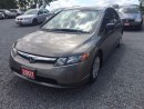 Used 2007 Honda Civic LX low kms for sale in Gormley, ON