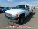 Used 2002 GMC SIERRA 2500 SL EXT CAB SERVICE BODY 4WD 6.0L for sale in Calgary, AB