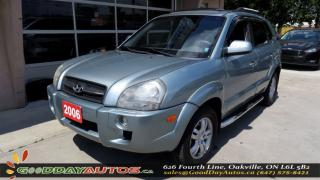 Used 2006 Hyundai Tucson GL | NO ACCIDENT | LEATHER SEATS | SUNROOF | AWD for sale in Oakville, ON