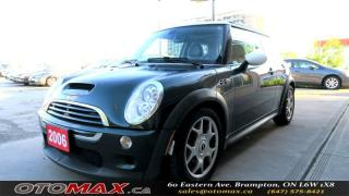 Used 2006 MINI Cooper S S| LEATHER SEATS | PANORAMIC SUNROOF | ALLOY WHEEL for sale in Brampton, ON