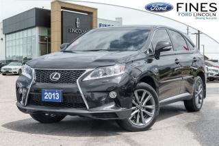 Used 2013 Lexus RX 350 F Sport - LEATHER, ROOF, NAVI! for sale in Bolton, ON