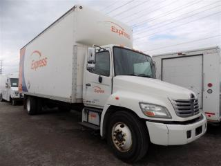 Used 2010 Hino 358 ROLLER FLOOR BOX TRUCK for sale in Mississauga, ON