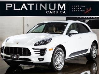 Used 2015 Porsche Macan S, NAVI, PANO, CAMER for sale in North York, ON