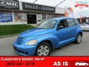 Used 2008 Chrysler PT Cruiser LX  AS TRADED *UNCERTIFIED* for sale in St Catharines, ON
