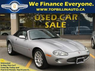 Used 2000 Jaguar XKR Convertible, Only 119K for sale in Concord, ON