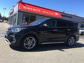 Used 2017 Hyundai Santa Fe XL Limited, 7 Passenger, Nav, BSM, Heated/Vented Seat for sale in Surrey, BC