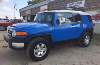 Used 2007 Toyota FJ Cruiser 4x4 for sale in Brunkild, MB