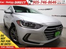 Used 2017 Hyundai Elantra GL  BACK UP CAMERA  LOW KM'S  TOUCH SCREEN  for sale in Burlington, ON