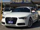 Used 2014 Audi A5 2.0 S-LINE*TECHNIK* NAVI*CAMERA*BLIND SPOT* for sale in York, ON