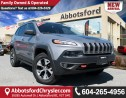Used 2015 Jeep Cherokee Trailhawk Panoramic Sunroof, Heated Leather Seats! for sale in Abbotsford, BC
