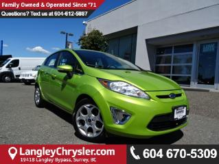 Used 2011 Ford Fiesta SES w/LEATHER  INTERIOR & SUNROOF for sale in Surrey, BC