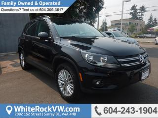 Used 2016 Volkswagen Tiguan Special Edition HEATED FRONT SEATS, REMOTE KEYLESS ENTRY, CRUISE CONTROL & REAR VIEW CAMERA for sale in Surrey, BC