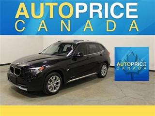 Used 2015 BMW X1 PANORAMIC ROOF LEATHER KEYLESS for sale in Mississauga, ON