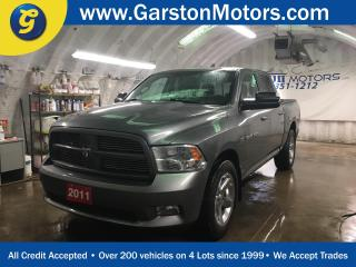 Used 2011 Dodge Ram 1500 SPORT*CREW CAB*4x4*LEATHER*U CONNECT PHONE*SIDE STEPS*CHROME RIMS*POWER WINDOWS/LOCKS/HEATED MIRRORS*TOW/HAUL MODE*TRACTION CONTROL*POWER DRIVER SEAT* for sale in Cambridge, ON