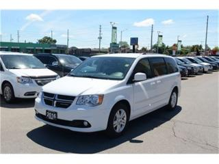 Used 2017 Dodge Grand Caravan Crew - Leather  Pwr Rear Hatch  Back Up Cam for sale in London, ON