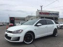 Used 2015 Volkswagen GTI - NAVI - LEATHER - SUNROOF for sale in Oakville, ON