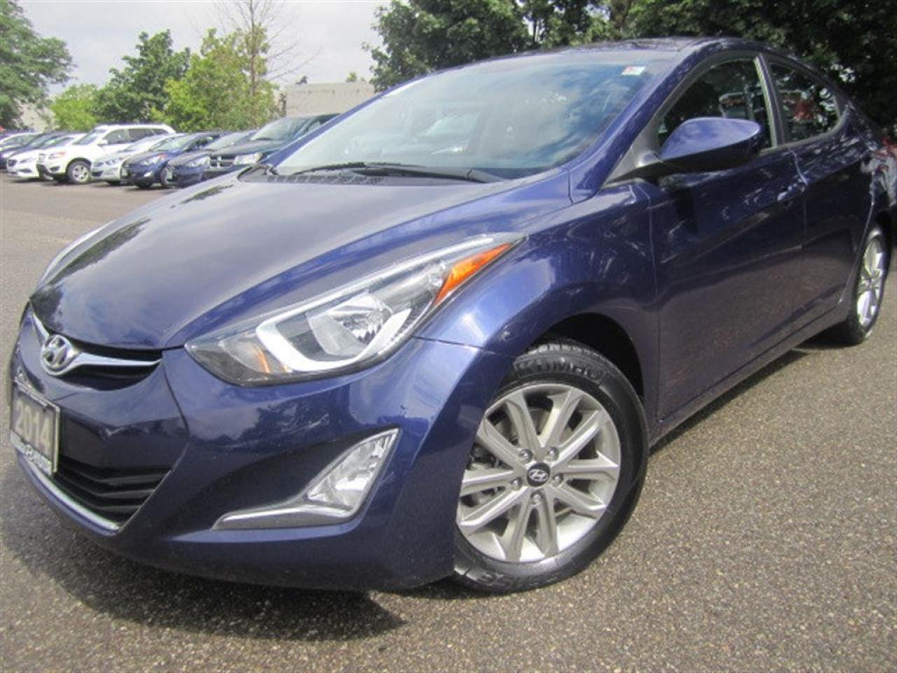 Photo of Dark Blue 2014 Hyundai Elantra