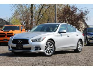 Used 2015 Infiniti Q50 PREMIUM**NAV**ROOF**BACK-UP CAM**AWD** for sale in Mississauga, ON
