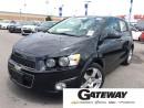 Used 2013 Chevrolet Sonic LTZ for sale in Brampton, ON